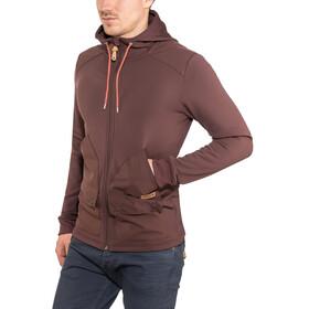 Maloja GilliM. Hooded Fleece Jacket Men choco